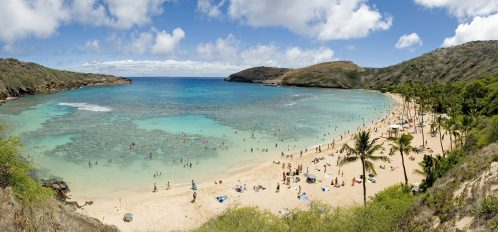 Hanauma Bay is perhaps one of the most popular destinations on Oahu. You'll find directions to this place and more in our Oahu travel guide!