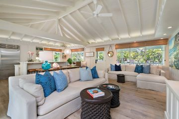 Plumeria Hale at Lanikai is yet another reason to book your stay with luxurious finishes and high-end furnishings.